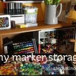 My marker storage