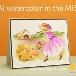 Art Impressions Watercolor in the MISTI