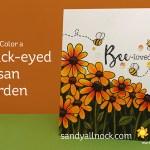 Copic Color a Black-Eyed Susan Garden – Honey Bee Bloghop