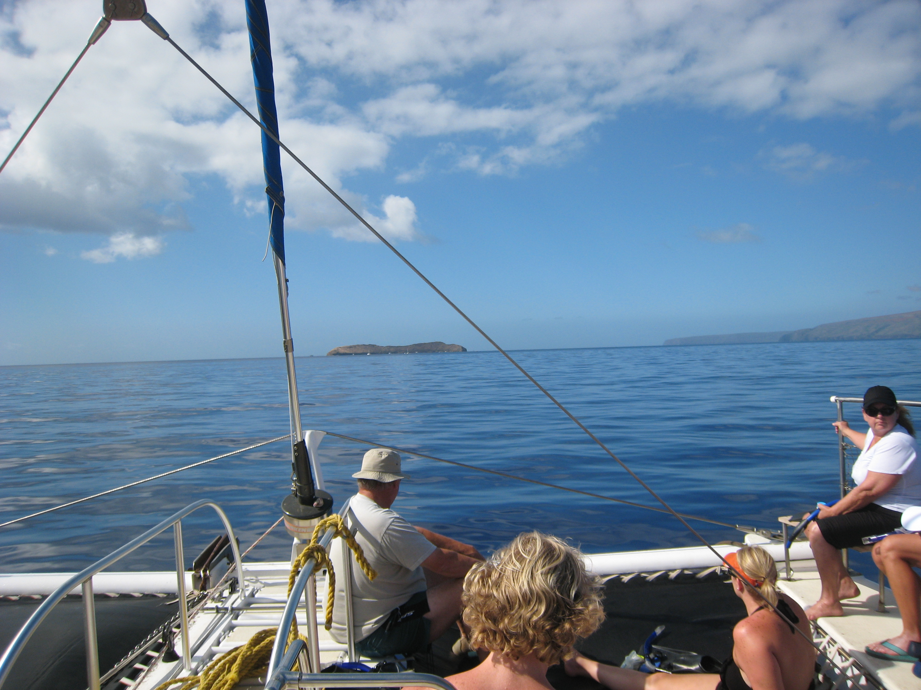 On our way to Molokini