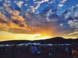 Saturday Wakarusa Sunset