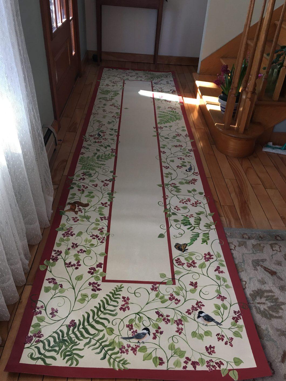 Hand Painted Floor Cloths | Floorviews co