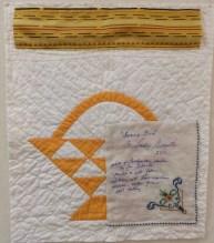 Sandy art quilt