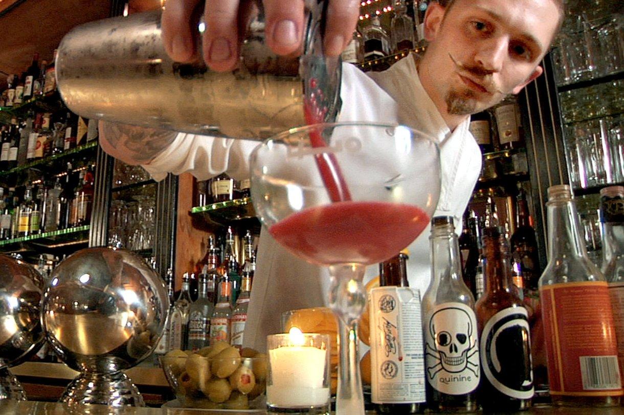 "Steve Schneider in the documentary ""Hey Bartender,"" directed by Douglas Tirola. 4TH ROW FILMS"