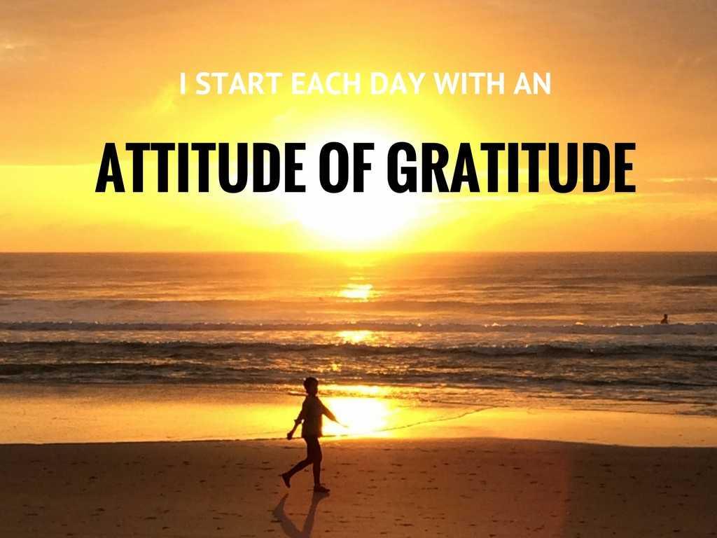 About Gratitude