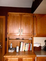 Top of new cabinet