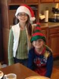 Megan and Jack at Christmas
