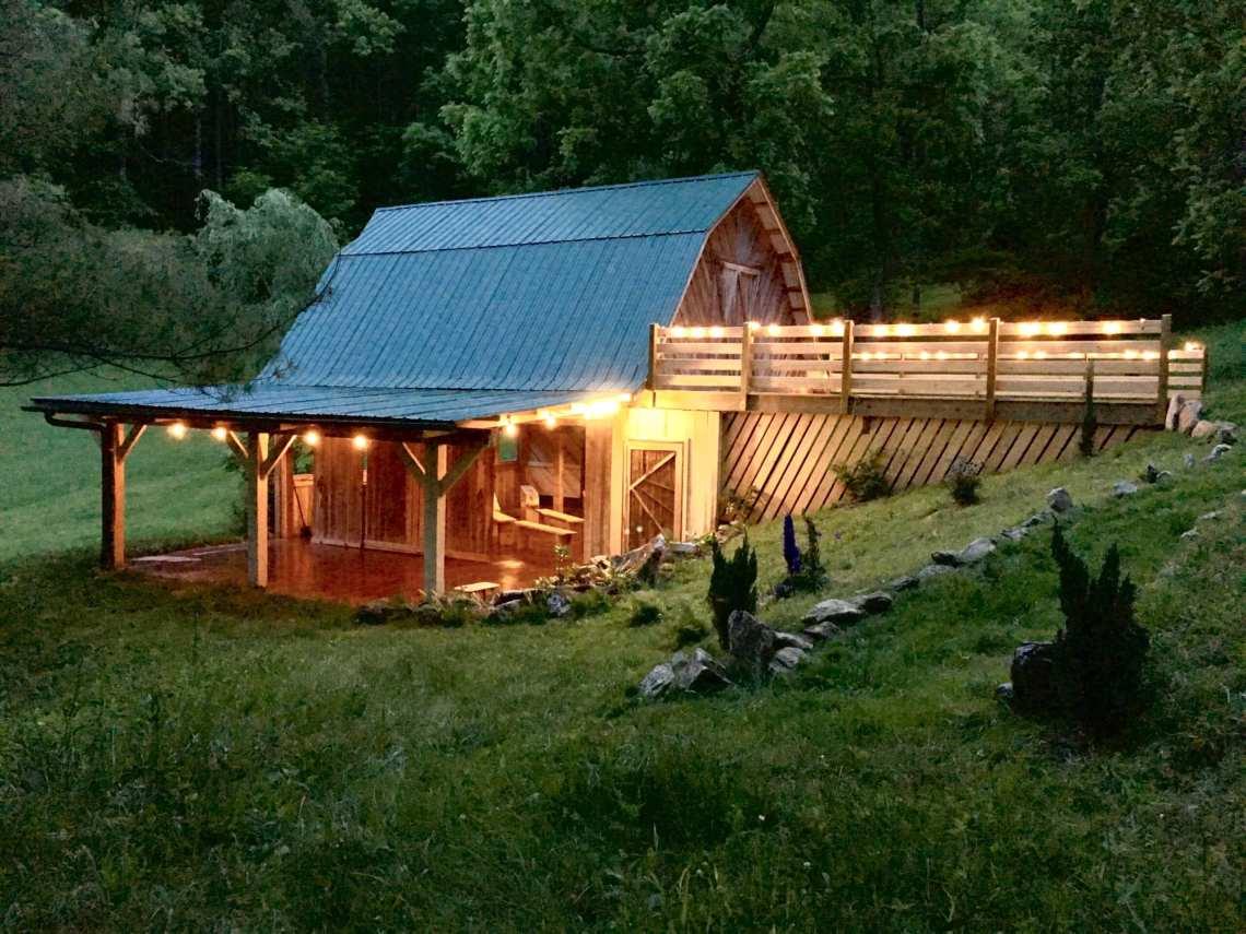 Asheville Barn Weddings at Walnut Ridge Farm