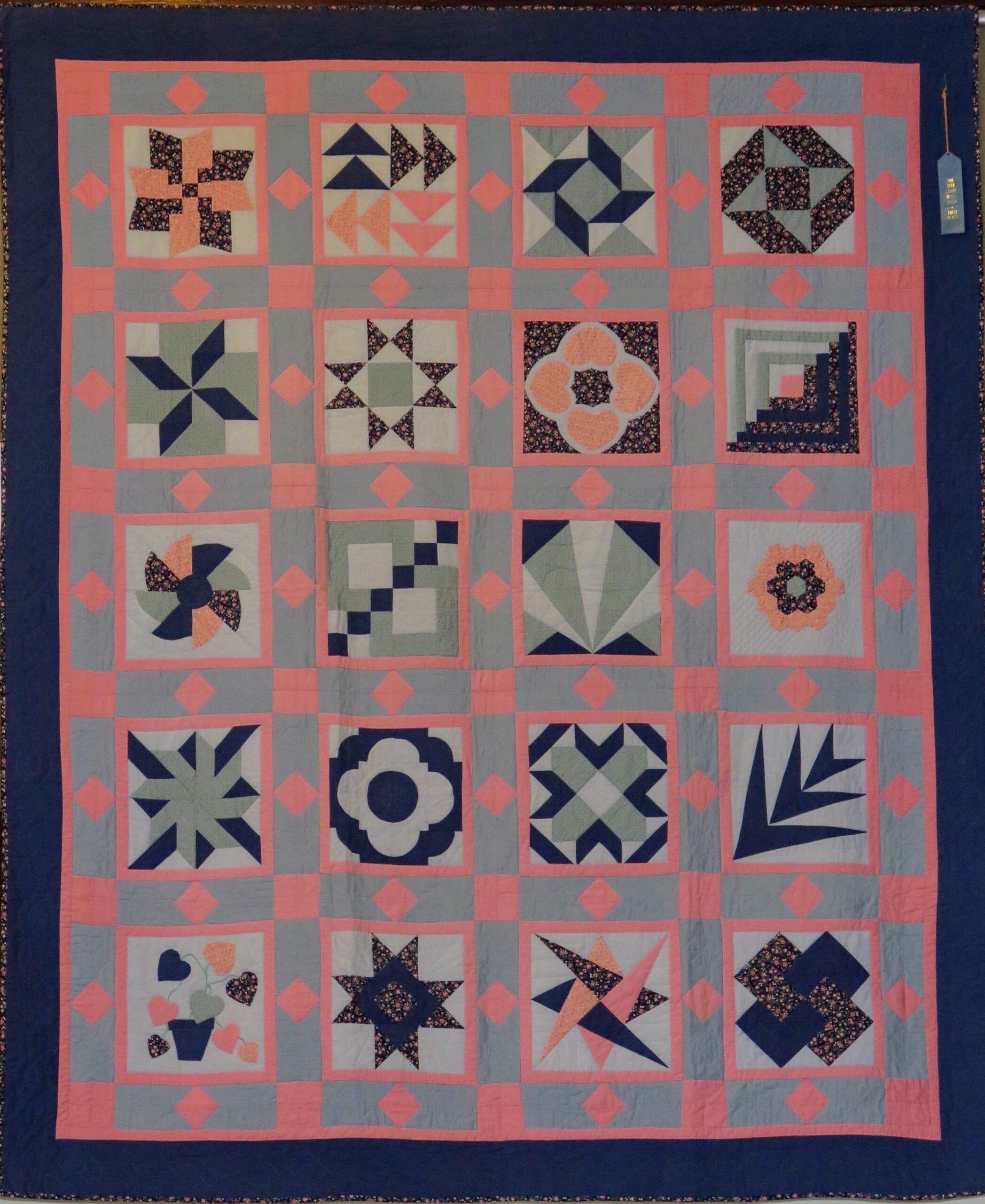Sandy Mush Quilt Gallery:  Julia Borg Quilt