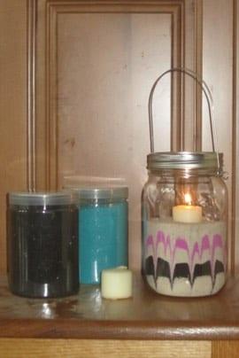 mason jar lantern craft project