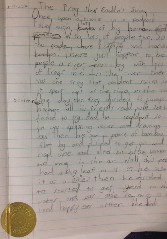 Writing Stimulus (3/6)