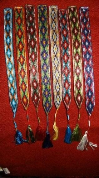 Book marks from Afghanistan