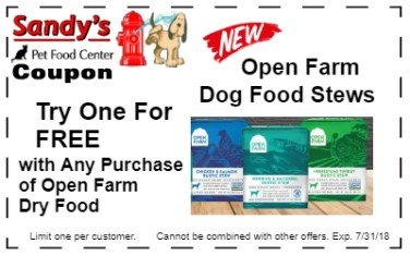 Open Farm Dog 7-18