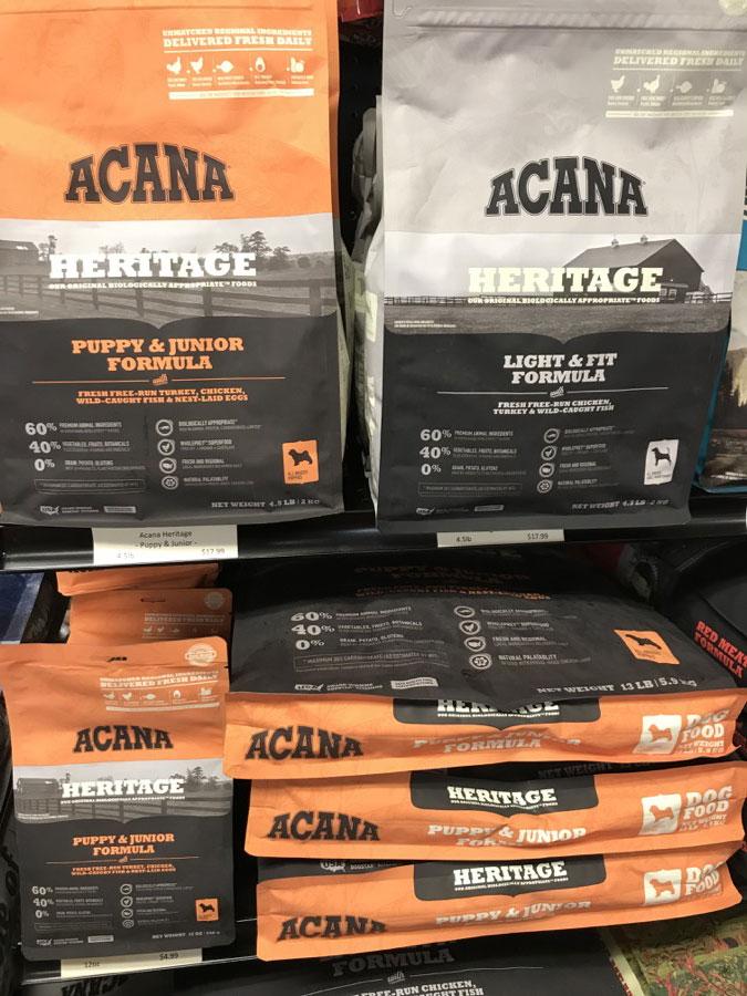 New Acana Flavors