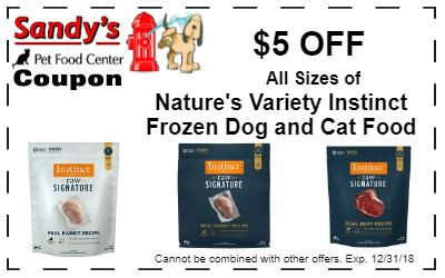 natures variety frozen 12-18