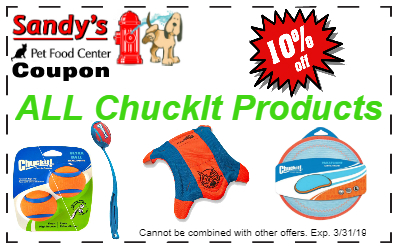 ChuckIt 3-19 – The Health Food Store for Pets