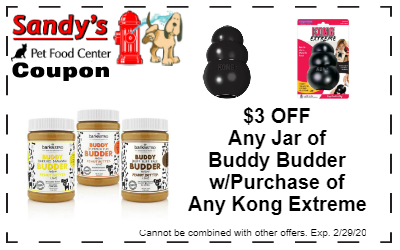 BUddy Budder coupon