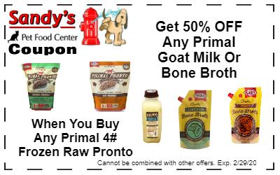Pronto Goat Bone coupon