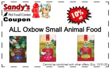 oxbow food 10-20