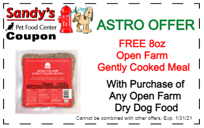 Open Farm gently cooked Coupon