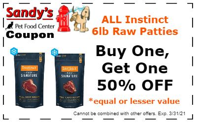 Instinct coupon