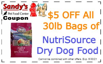 nutrisource dry dog 6-21