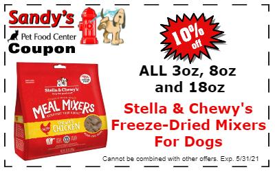 Stella Freeze Dried coupon