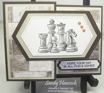 Game On:  Card #1 – Z Card wth Chess Pieces and Video