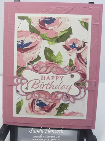Art Gallery – More Remakes with the Beautiful Fine Art Floral Designer Papers