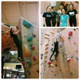 Got a chance to try our bouldering with some of my PA classmates