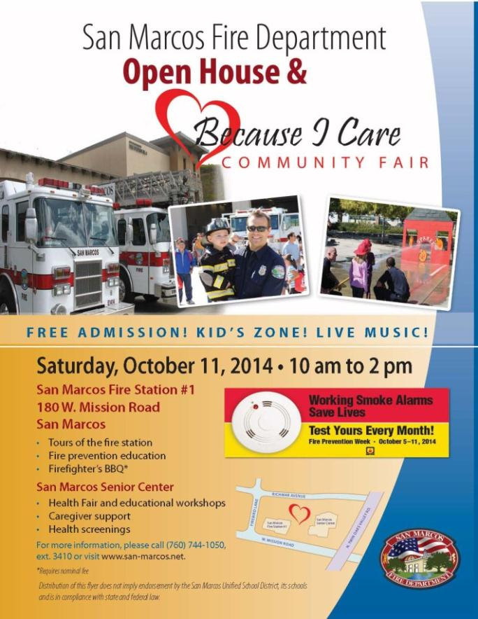 San Marcos Fire Department Open House