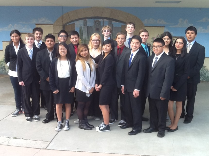 Nineteen San Marcos Middle School 8th graders have been working very hard in preparation for an international Model United Nations conference in New York City at the end of the month.