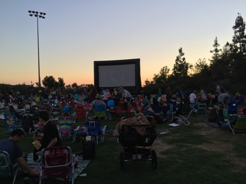 San Elijo Hills Movie in The Park