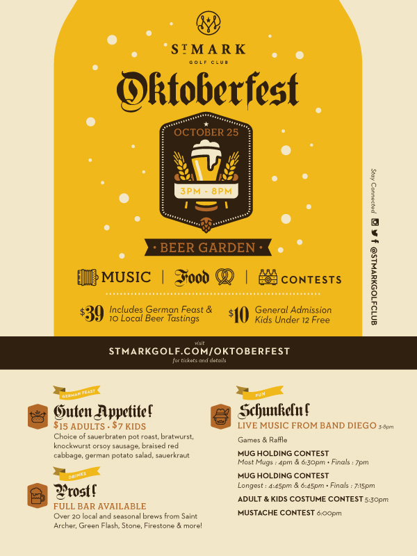 Oktoberfest at St. Mark Golf Club
