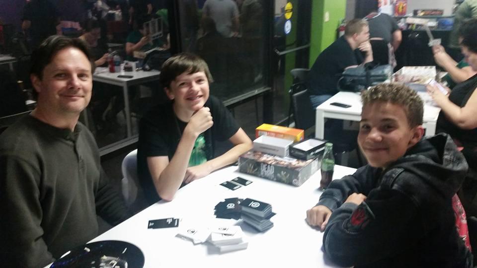 February Nerd Night - Keller, Aiden and friend