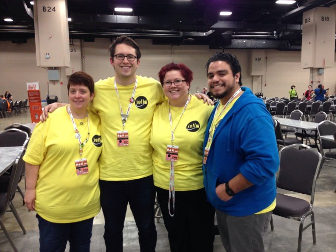 Iello Game Demo Crew at Pax South 2016