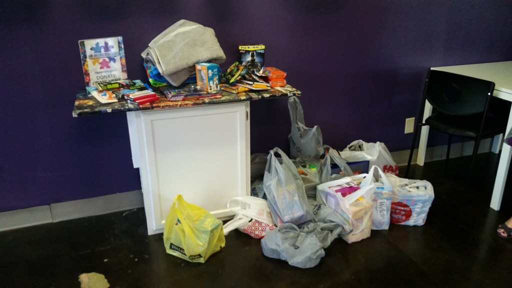 Donations for Camp David