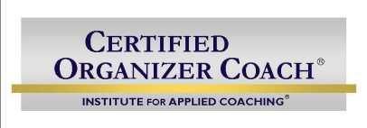 Certified Coach, Certified Organizer Coach, Cena Block Sane Spaces