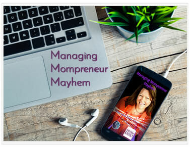 Cena Block's Podcast: Managing Mompreneur Mayhem