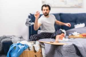 slacker organizing tips, disorganized, messy, clutter