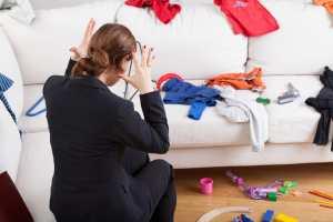 slob, disorganized, spouse, home organization