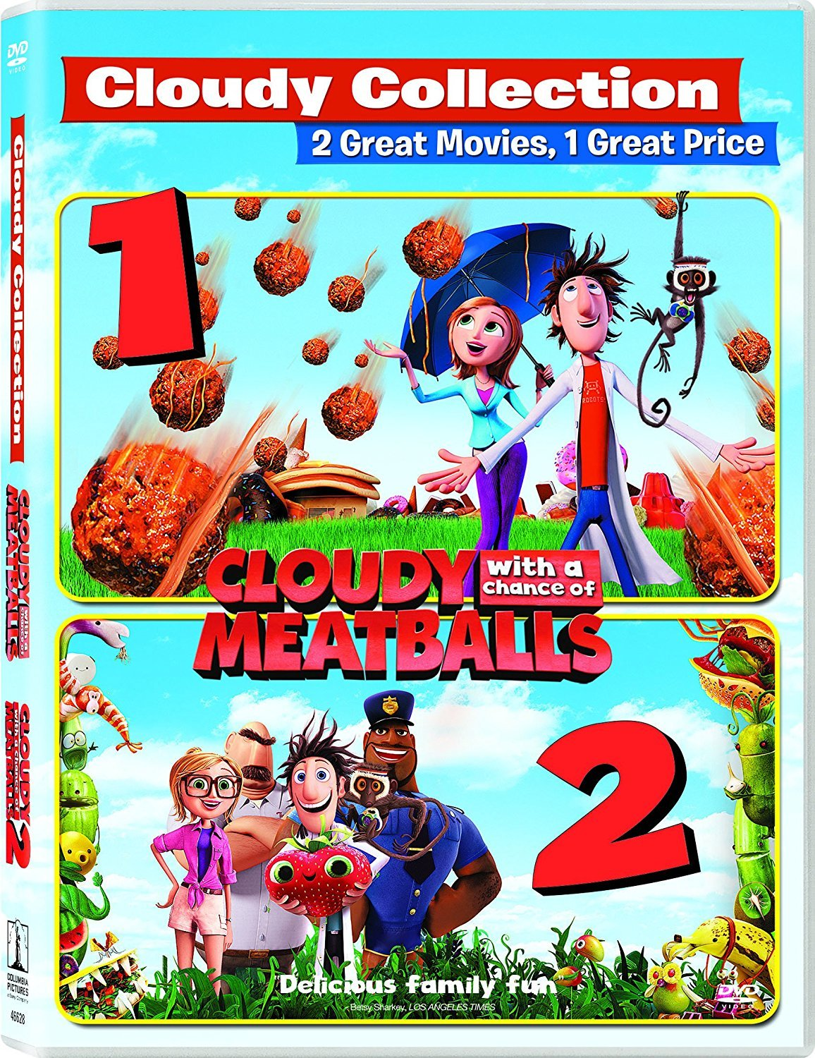Download Cloudy With A Chance Of Meatballs Duology 720p