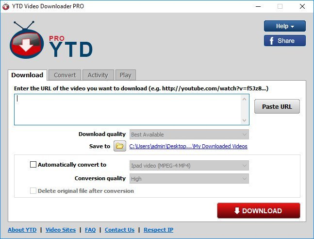 YTD Video Downloader Pro 5.9.7.2 Multilingual Portable