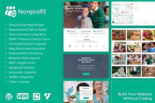 Nonprofit v1.0.0 - WordPress Theme - CM 2549356