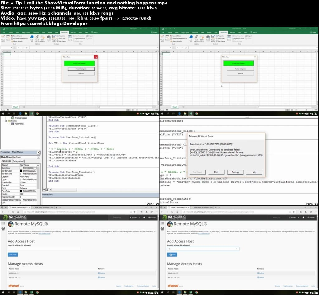 Download Create Excel Apps With Mysql Amp Virtual Forms