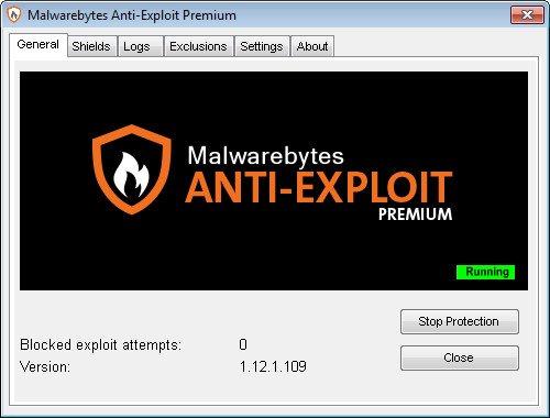 Malwarebytes Anti-Exploit Premium 1.12.1.109