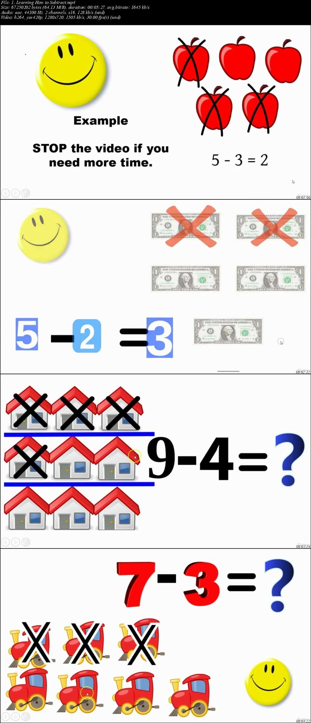 Download Math Video Worksheets For Preschool Kindergarten