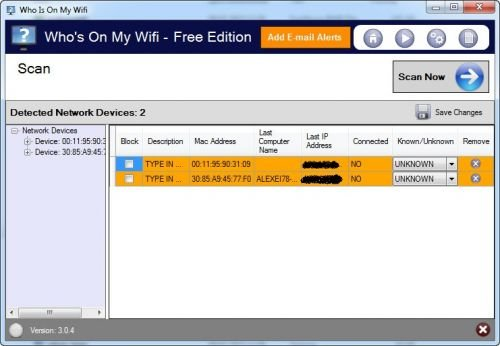 Who's On My WiFi 4.0.5