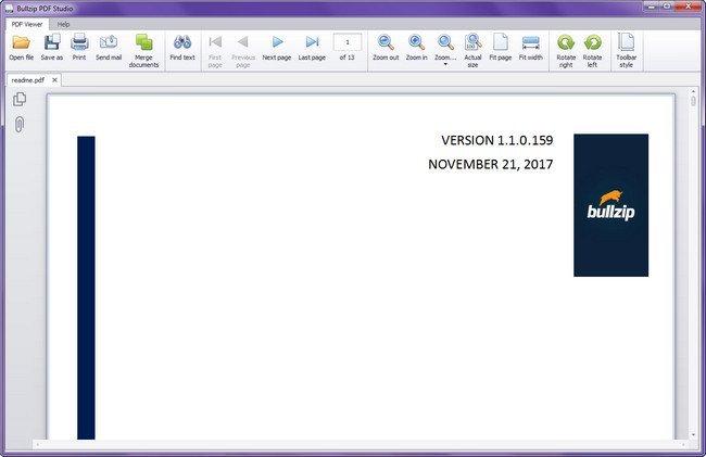 Portable Bullzip PDF Studio 1.1.0.162