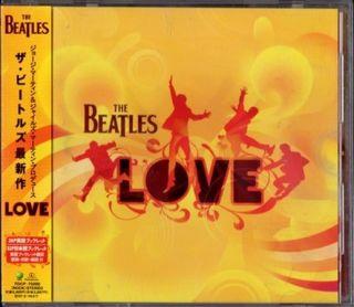 The Beatles – Love (2006) {Japan 1st Press} CD-Rip